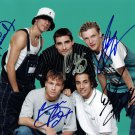 BACKSTREET BOYS - 90s BOY BAND - EARLY POSE YOUNG - HAND SIGNED AUTOGRAPHED PHOTO WITH COA