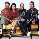 SEINFELD TV SHOW CAST = ALL STARS = HAND SIGNED AUTOGRAPHED PHOTO WITH COA