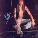 AXL ROSE - LEAD SINGER OF GUNS N' ROSES BAND - HAND SIGNED AUTOGRAPHED PHOTO WITH COA