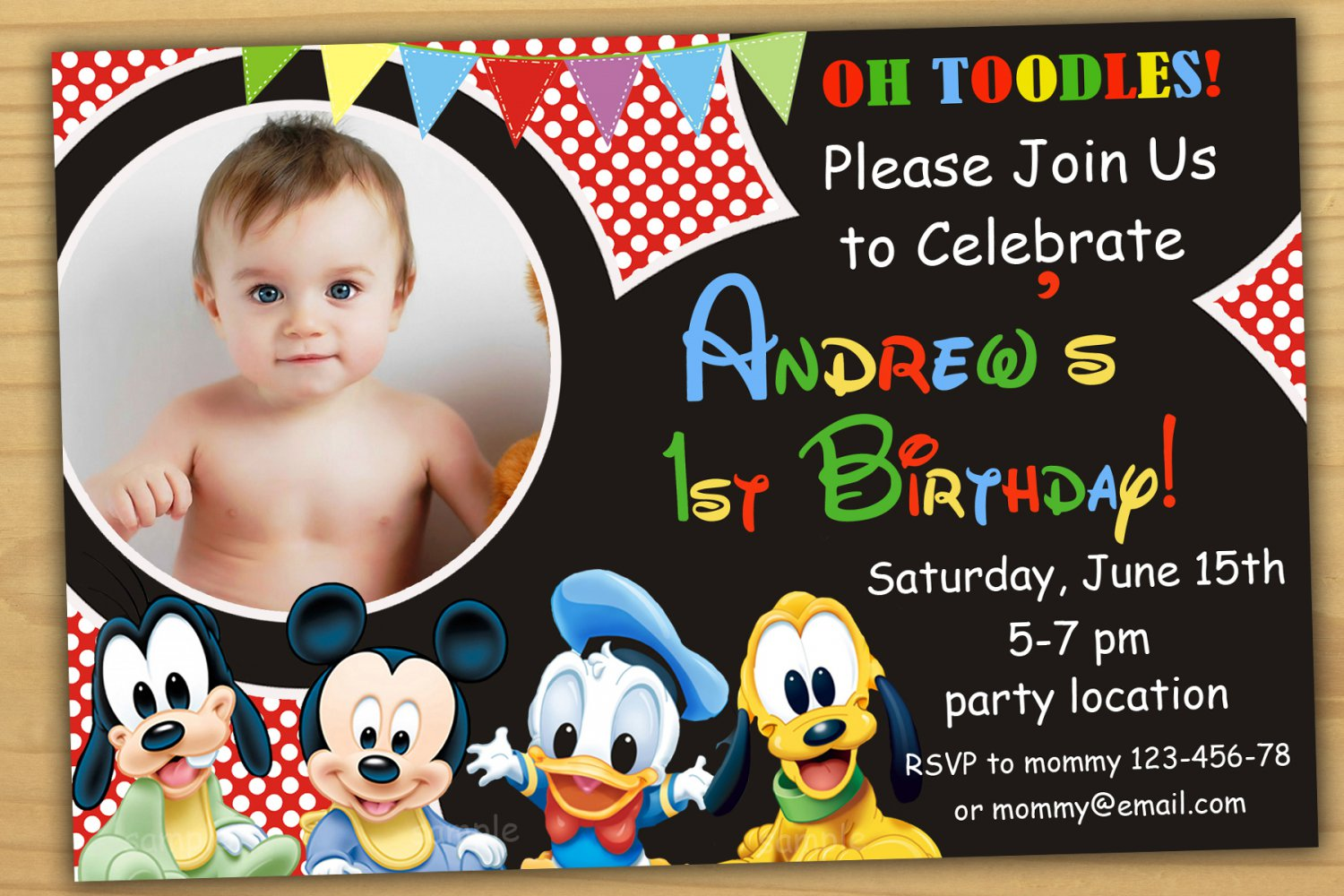 Baby minnie mouse invitationminnie mouse first birthday invitation baby minnie mouse invitationminnie mouse first birthday invitationbaby mickey mouse invitation filmwisefo