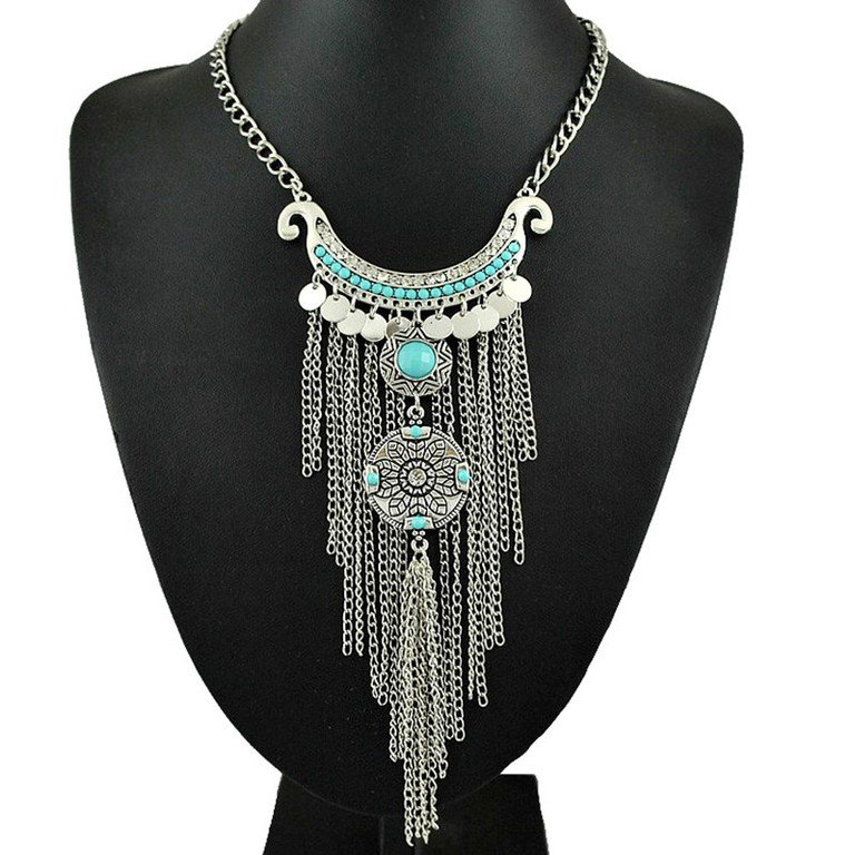 $15 Long Tassel Necklace