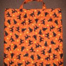 Black Cats - Reusable Trick or Treat Tote or Gift Bag
