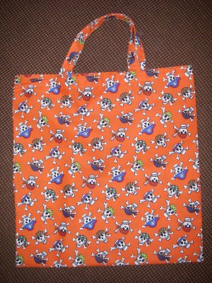 Pirates - Reusable Trick or Treat Tote or Gift Bag
