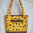 Structured Large Tote, Diaper bag, Knit or Sew Tote, Carry all - Halloween Characters