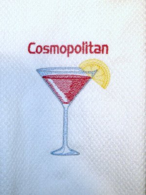 Cosmopolitan - Embroidered Hand Towel
