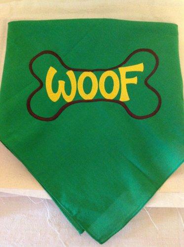 Doggie bandana - Woof