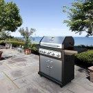 Dyna-Glo Premium 79,000 BTU 5-Burner Propane Gas Grill with Side Burner & Rotisserie Burner