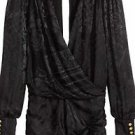 BALMAIN x H&M Jacquard-weave Silk Dress - Black Size 6 sold out