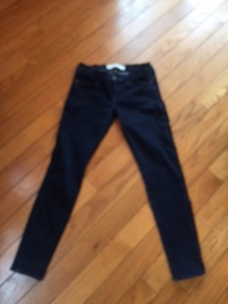 Pre-owned ABERCROMBIE & FITCH DARK Wash Perfect Stretch Jeans SZ 4 W 27