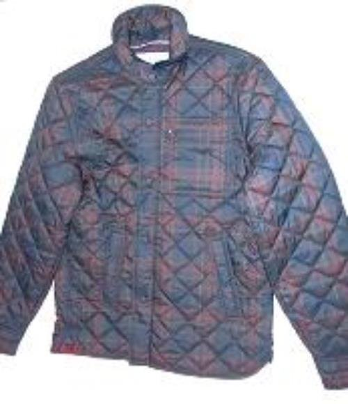 NWT TOMMY HILFIGER Men's Blue/Brown Jacket Size XL Retails $149.00