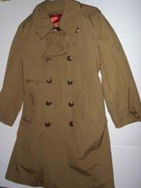 Pre-owned VTG T HARBOR MASTER Men's Tan Trench Coat Size 40
