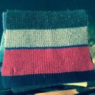 VGC LANDSEND Direct Merchants  Multicolor Wool Blend Scarf