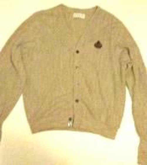 Pre-owned  IZOD Men's Tan Acrylic Sweater Size L