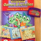 LeapFrog LeapPad Book / Cartridge- Learning Letters & Sounds Games & Activities