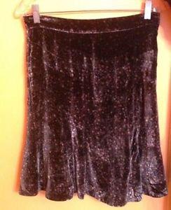 EUC Marc by Marc Jacobs Purple Gray Jewel Tone Skirt w/ Graphic Detail SZ 6