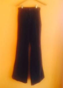 NWOT JBRAND Navy Corduroy Flare Jeans SZ 24 $275 Made in USA