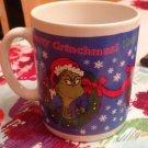 30 Oz. Hallmark Dr Seuss Happy Who Year Merry Grinchmas Grinch Christmas Mug