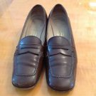 VGC Salvatore Ferragamo Sport Penny Loafers SZ 7.5 B Made in Italy