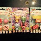 12 Crazerasers Fun Collectible Pencil Erasers -Sushi- Desserts- Series 2 Animals
