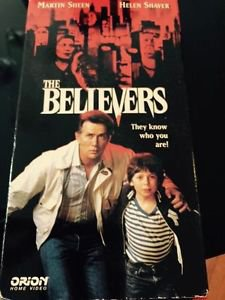 The Believers (VHS, 1987) OOP Very 1st HBO Video Release! Martin Sheen Cult Film