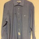 NWT Yves Saint Laurent Cornflower Blue Shirt Style 831109 SZ 16.5 R