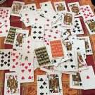 VTG ACE Playing Cards 2 Decks in Plastic Case EUC Made in Japan
