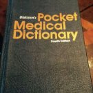 Blakiston's Pocket Medical Dictionary, 1979 -  4th Ed.