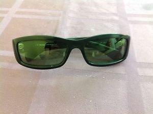 VGC Max Mara Black Plastic  Fashion Sunglasses 130 MM 654/SL Made in Italy
