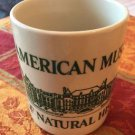 EUC VTG American Museum of Natural History Off White Mug w/ Green Detail