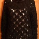 NWOT Forest Green Garnet Hill Wool Blend Knit Sweater SZ XS