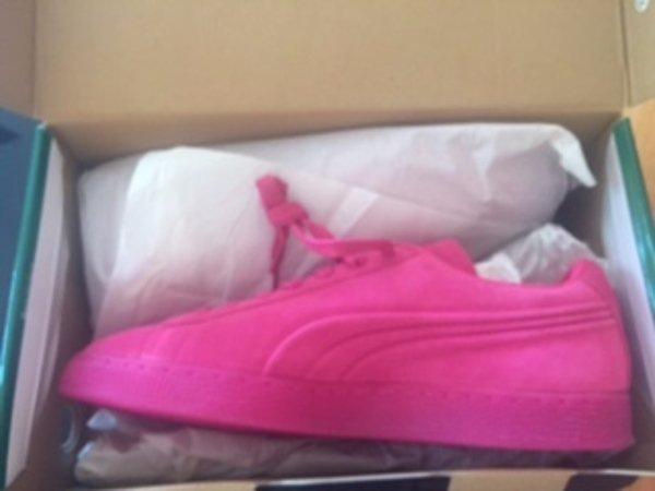 NIB PUMA Beetroot Pink Purple Suede Classic Men's Sneaker SZ 10.5