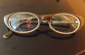 VTG Calvin Klein Khaki  Eyeglass Frames Made in Japan