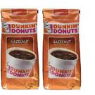 NIP DUNKIN' DONUTS Hazelnut Ground Coffee, 12 Oz