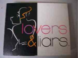 LOVERS & LIARS Vintage Board Game 1993 SEALED Sex Couples Intimate Relationship