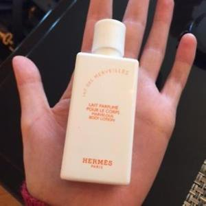 NWOB HERMES Lait des Merveilles Body Lotion 1.35 FL OZ/40 ML Made in France