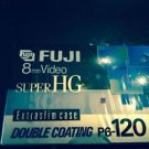 SEALED 8 mm SUPER HG FUJI Video Cassette Tape Film P6-120 8mm 120