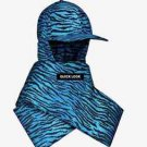 Kenzo x H&M Mens Padded Cap with Scarf Blue Tiger Print Streetwear SOLD OUT O/S