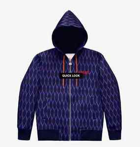 Kenzo x H&M Mens Scuba-Look Hooded Jacket SZ M Graphic Print Streetwear SOLD OUT
