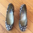 CHLOE SEVIGNY for Opening Ceremony Pony Hair Printed  Pumps SZ 38
