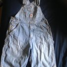 GAP VTG Women's  100% Cotton GAP Short Overalls SZ XL 1990s