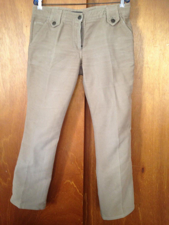 Dolce & Gabbana Tan Cotton Blend Jeans Denim SZ 12