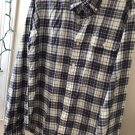GANT by Michael Bastain Men's Plaid Long Sleeve Shirt 100% Cotton SZ M
