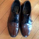 Stuart McGuire Brown Leather Spring Step Cushion Dress Shoes SZ 9.5B USA