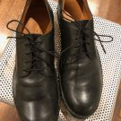 EUC FIORENTI & BAKER Black Laceup Dress Formal Shoes SZ 8.5 Made in Italy
