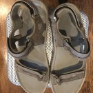 EUC TEVA Gray Athletic Sandal Walking Shoe SZ 14