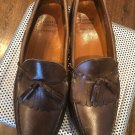 EUC ALLEN EDMONDS Lowry Hill Tassel Loafers SZ 11.5 D
