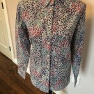 NWT BODEN Cotton Print Multicolor Tiny Abstract Floral Print SZ US 10 UK 14