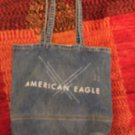 NWOT AMERICAN EAGLE Denim Tote Bag Limited Edition