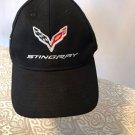 NWOT C7 STINGRAY Corvette Black Snapback Baseball Hat