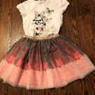 NWOT H&M Kids Embellished T-shirt & Skirt SZ Girls' 6
